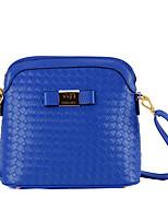 Women-Outdoor / Office & Career-PU-Shoulder Bag-Purple / Blue / Yellow / Gold / Red / Black