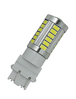 4X White Car 3156 3157 33 5730 SMD LED Rear Light Brake Bulb Lamp 12-24V F016