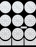 Nail Art Stamping Placa Stamper raspador 14.5cm*10cm