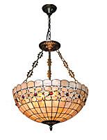 Max 60W Tiffany Style mini Autres Métal Lampe suspendueSalle de séjour / Chambre à coucher / Salle à manger / Cuisine / Bureau/Bureau de