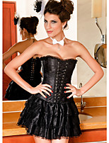 Grande Taille / Serre Taille / Corset / Robes Corset / Set de Corset Lacet Nylon / Polyester Femme