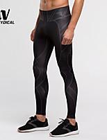 Corsa Pantaloni / Leggings / Pantalone / Calze Per uomo Traspirante / Asciugatura rapida / Compressione / Materiali leggeri / UPF50+