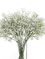 6 Pcs Home Decoration PU Material All Over The Sky Star Simulation Plant Flowers Studio Props Artificial Flowers