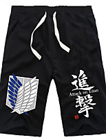 Inspired by Attack On Titan Big Shield Daily Cosplay Boys' Pure Cotton Shorts
