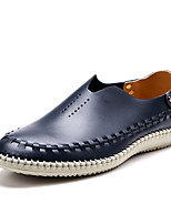 Men's Shoes Leather / Microfibre Outdoor / Casual / Athletic Loafers Outdoor / Casual / Athletic Flat Heel Others Blue / Brown / Gray