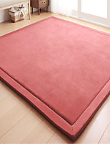 New-Designed Casual Style Coral Velvet Material Non-Slip Thickened Mat W31