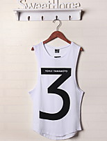 European And American Hip-Hop Summer Hollow Sleeveless Vest Leisure And Sports Figures
