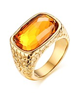 Ms Exaggerated Zircon Ring