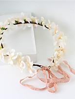 Femme / Jeune bouquetière Tissu Casque-Mariage / Occasion spéciale / Décontracté / Extérieur Couronnes 1 Pièce