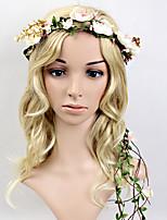 Dame Plastikk Headpiece-Bryllup / Spesiell Leilighet Pannebånd / Kranser 1 Deler 35~50