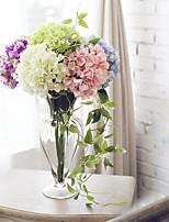 Seda Hortênsia Flores artificiais
