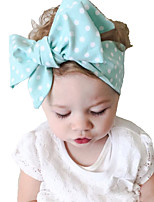 Kid's Vintage Lovely Dots Big Bowknot Headband(0-15Years Old)