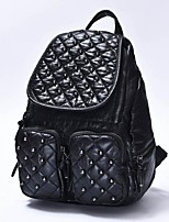Women Casual / Outdoor PU Zipper Backpack