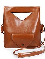 Women-Casual / Outdoor-PU-Shoulder Bag-Pink / Brown / Black / Burgundy