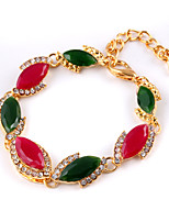 Opal Pigeon Blood Red Clasp Multicolored Gems Bracelet Wedding