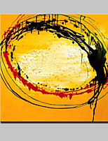 Lager Hand Painted Modern Abstract Oil Painting On Canvas Wall Art Picture For Home Whit Frame Ready To Hang 100x100cm