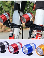 6LED Bike Light  Cycling Safety Bicycle Front Rear Exchangeable Lamp Waterproof Bike Tail Light Warning Lamp