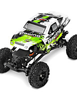Rock climbing car WL toys Climbing car 1:24 Brush Electric RC Car 6km/h 4ch 2.4G Green Ready-to-go