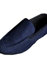 Men's Shoes Casual Fleece Loafers Black / Blue / Gray