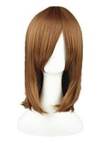 Umineko no Nakukoroni-Ushiromiya Maria Light Brown 18inch Anime Cosplay Wig CS-025B