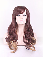 Harajuku Ombre Wig Pelucas Pelo Curly Natural Heat Resistant Anime Cosplay Wigs Perruque Synthetic Wigs Women hair style