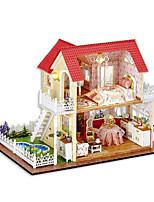 Chi Fun House Diy Hut Hut Princess Hand Assembled Model House Creative Gifts To Send Girls Day Gift