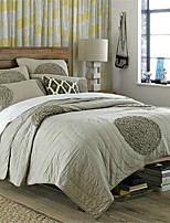 3PC Quilt Sets Full Cotton Embroider 90