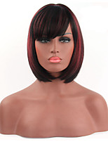Fashionable Multi-color Short Length Straight Cosplay Synthetic Wigs
