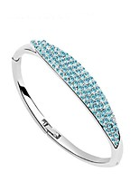 Thousands of colors Women's Cuff Bracelet Alloy Crystal-3-090