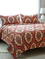 3PC Quilt Sets Full Cotton Euro Pattern 71
