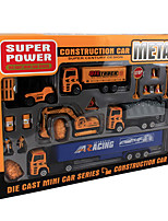 Dibang -1699 explosion models child model toy car alloy construction vehicles toy stall selling excavators (8PCS)