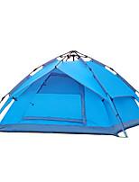 Tenda-Impermeabile / Traspirabilità / Anti-polvere / Anti-vento / Tenere al caldo-3-4 persone-Blu