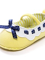 Baby Shoes Outdoor Cotton Flats Yellow
