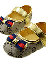 Baby Shoes Outdoor Cotton Flats Gold