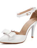 Wedding Shoes-Sandálias-D'Orsay / Bico Fino-Azul / Rosa / Branco-Feminino-Casamento / Festas & Noite / Social