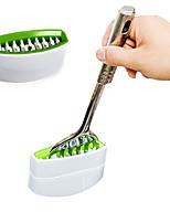 Kitchen Helper Cooking Tools Cutlery Cleaner Knife Fork Spoon Brush Clean Tool(Random Colors)
