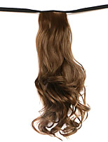 Wig Brown 50CM High-Temperature Wire Strap Style Long Hair Ponytail Colour 10