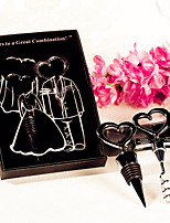 Sweetheart Bottle Stopper and Opener Practical barware set Favor Beter Gifts® Wedding Favours