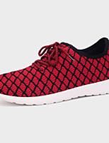 Men's Shoes Athletic Tulle Fashion Sneakers Blue / Red / Gray