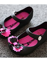 Baby Shoes Casual PVC Flats Black / Red / White