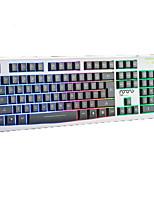 kleurrijke verlichting mechanische aanraking bekabelde USB waterdichte laptop desktop pro verlichte toetsenborden van computers