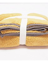 3pc Pack High Quality Solid Coral Fleece Wash Towel 31.5