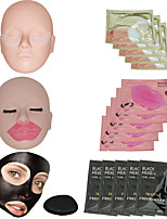 PILATEN 5 Pcs Nose Masks + 5 Pcs Lip Masks + 5 Pcs Eye Masks Facial Care Deep Peel Off Removal Blackhead Face Mask