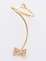 Mix Lots Austria Crystal Rings Gold Plated Finger Bow Square Flower Heart Butterfly Ring Zircon Rings Women Jewelry