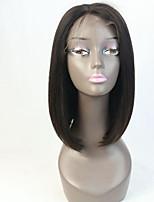 Glueless Virgin Hair Full Lace Human Hair Wigs Bob for Black Woman Short Cut Bob Wig Instock
