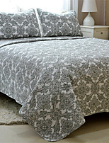 3PC Quilt Sets Full Cotton Euro Pattern 90