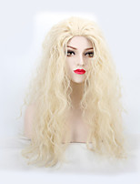 Fashion Synthetic Wigs Blonde Color Natural Wave Synthetic Wigs