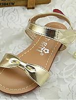 Girls' Shoes Outdoor PU Summer Comfort / Sandals Silver / Gold