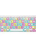 Bright Color Frame Silicone Keyboard Cover Skin for Macbook Air 13.3/Macbook Pro 13.3 15.4,US version