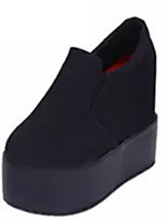 Women's Shoes Fleece Summer Wedges Heels Casual Wedge Heel Others Black / Pink / White